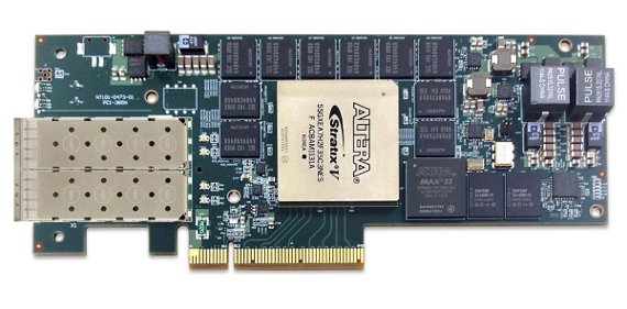 Nallatech PCIe-385N FPGA board