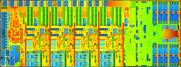 Haswell Processor Die